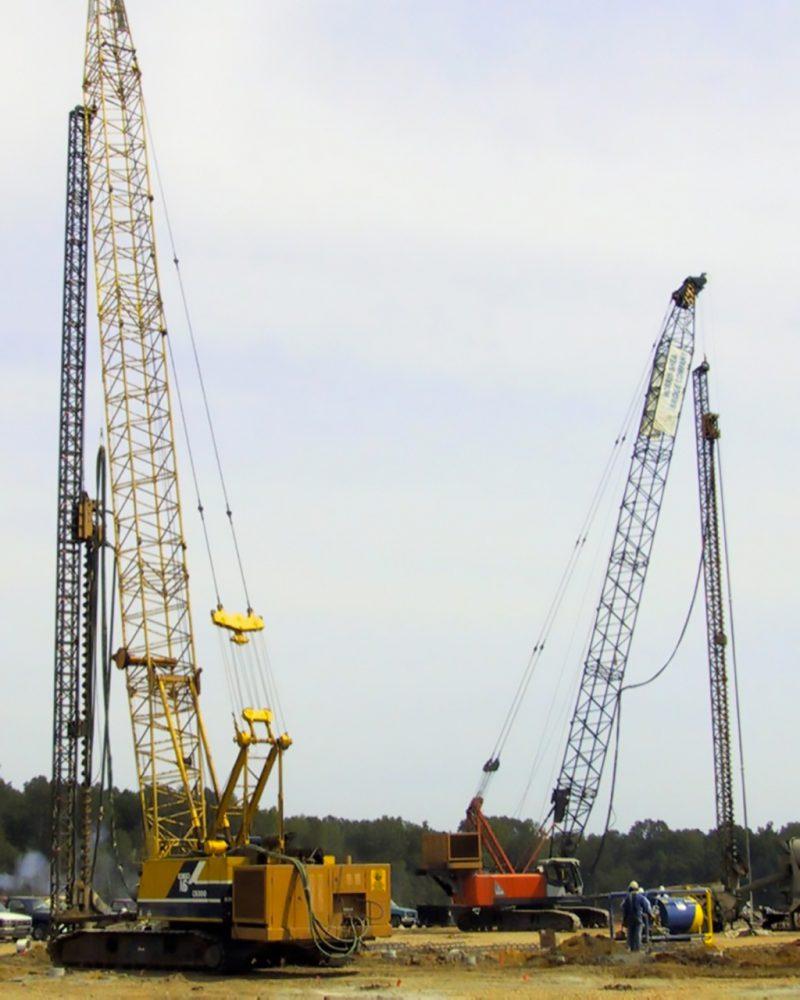 Driven Pile Construction
