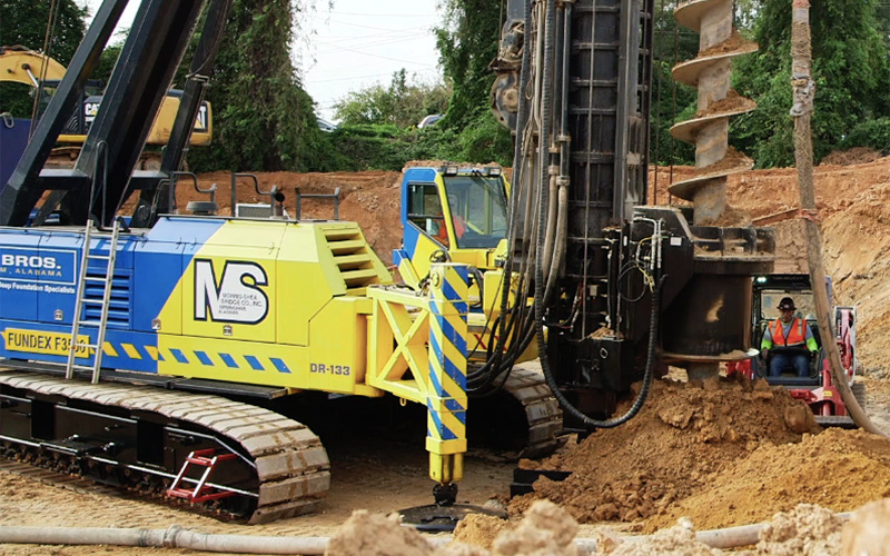 CFA Pile Installation