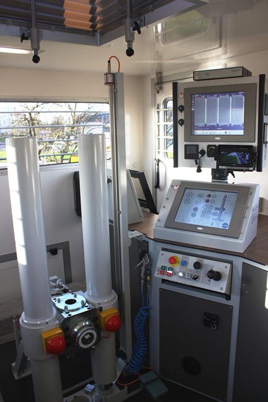 CPT rig interior