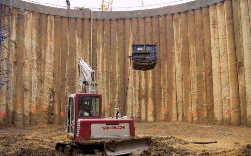 Secant Pile Wall