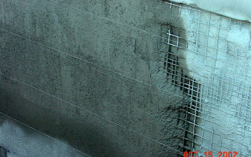 Secant Pile Wall Construction