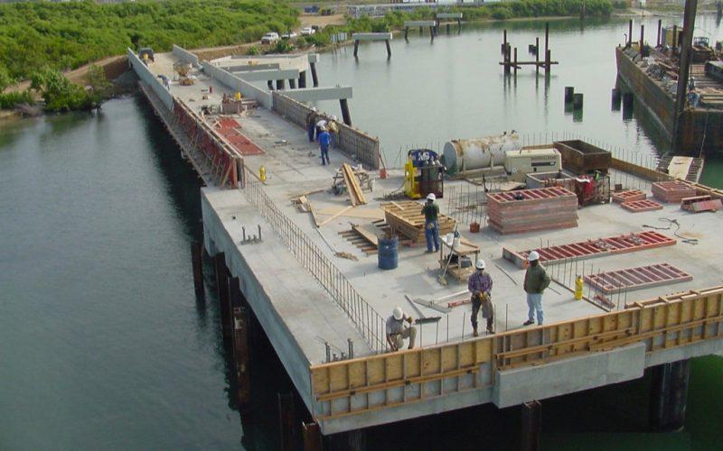 Marine Environment Foundation Construction