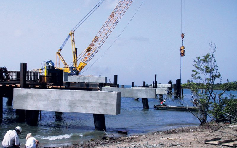 Marine Foundation Construction