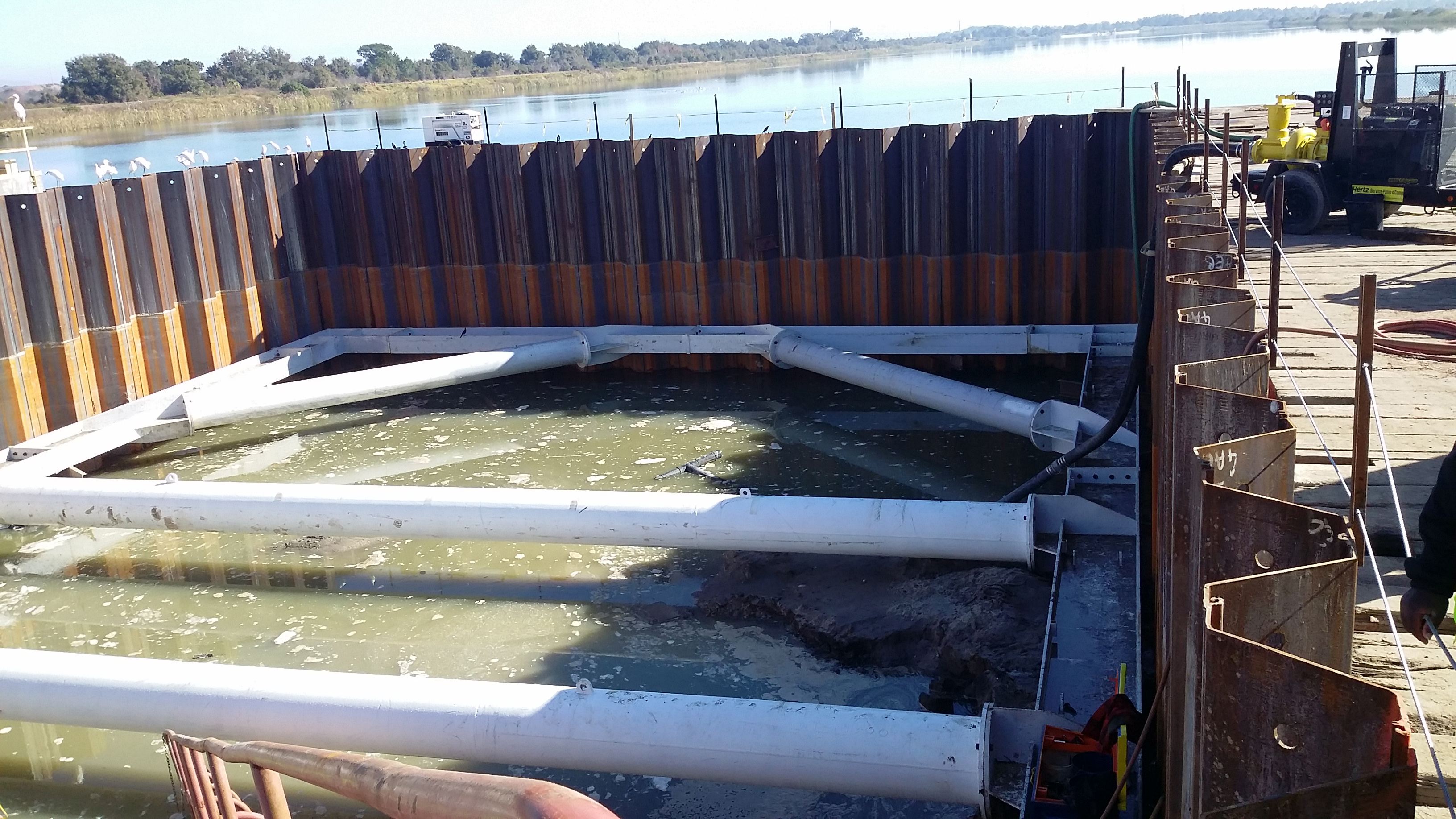 Morris-Shea cofferdam