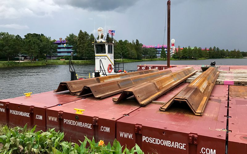 Cofferdam Sheet Pile