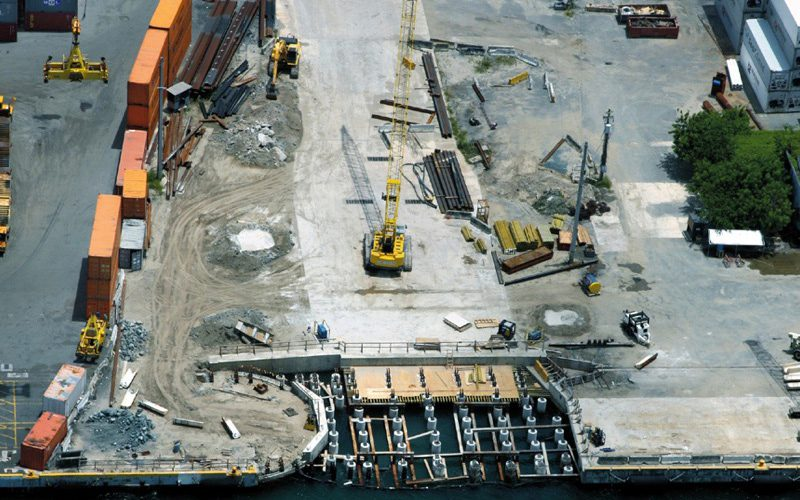 Pier Foundation Construction