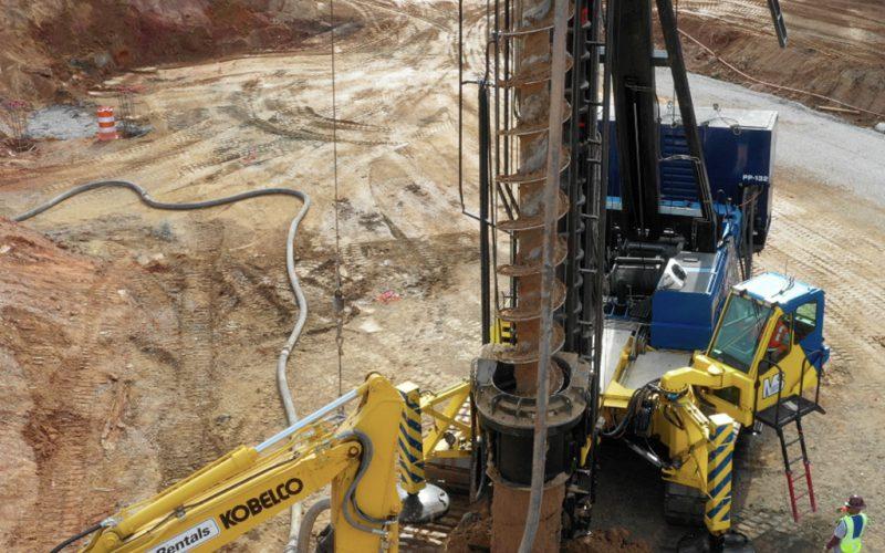 CFA Pile Construction