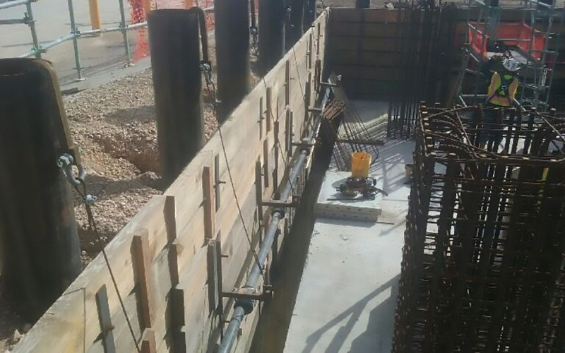 Shoring Wall Earth Retention