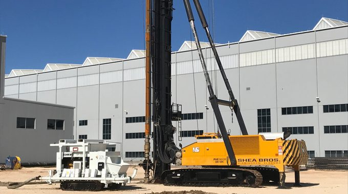 Morris-Shea Completes Deep Foundation Construction For Airbus Dual Bay Hangar Expansion