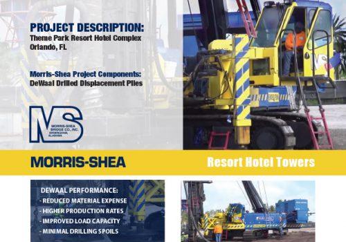 Themepark Resort Deep Foundation Project Sheet