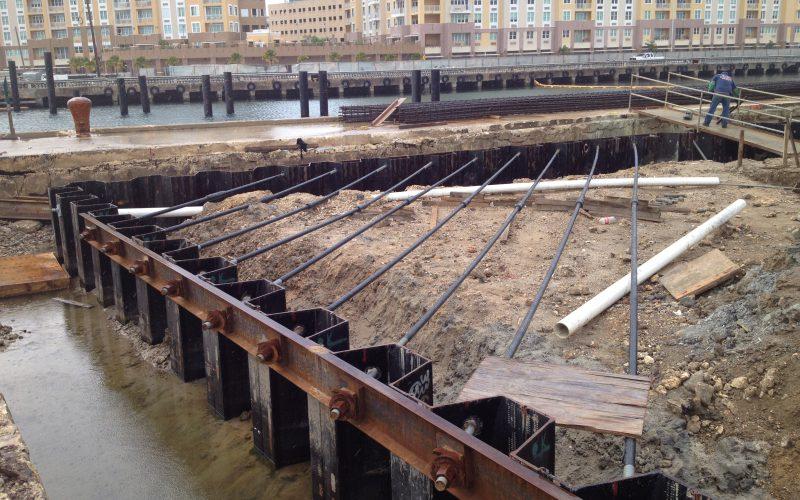 Marine Foundation Structure, Marine Foundation System