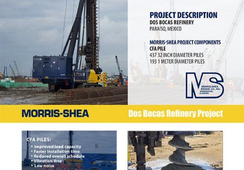 Dos Bocas Refinery Deep Foundation